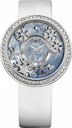White gold Diamond Watch - Piaget Luxury Watch How beautiful. Amazing Watches, Beautiful Watches, Gold Diamond Watches, Timex Watches, Armani Watches, Patek Philippe, Luxury Watches For Men, White Gold Diamonds, Quartz Watch