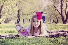 Sisters <3 #blossoms #adelaidephotographer #babieschildrenfamily https://www.facebook.com/simplyphotographic2012?ref=hl