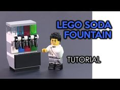 How to Build a LEGO Soda Fountain