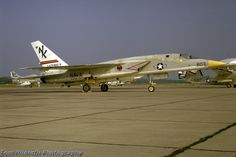 RA-5C Vigilante of RVAH-13 at NAS So. Weymouth, MA 18 August 1973