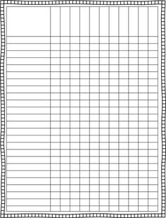 Blank Class List Template  Finally A Cute Lesson Plan Template