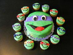 Teenage mutant ninja turtles cake | Flickr - Photo Sharing!