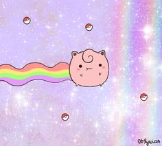 Nyan Jigglypuff...for Katie