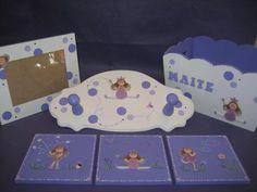 pañalera portacosmeticos caja, marco, cartel y cuadritos