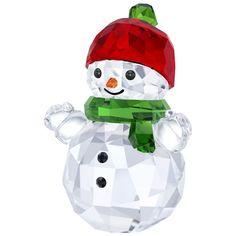SNOWMAN WITH RED HAT 2017 HOLIDAY CHRISTMAS SWAROVSKI CRYSTAL  5288205  | eBay