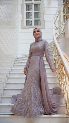 Ideas Dress Hijab Evening Wedding Gowns Ideas Dress Hijab Evening Wedding Gowns Ideas Dress Hijab Evening Wedding Gowns Ideas D Muslim Prom Dress, Hijab Prom Dress, Dress Brukat, Hijab Gown, Muslimah Wedding Dress, Hijab Evening Dress, Kebaya Dress, Muslim Wedding Dresses, Evening Dresses