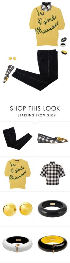 """Casual Chic"" by halebugg ❤ liked on Polyvore featuring COSTUME NATIONAL, Dolce&Gabbana and Dsquared2"