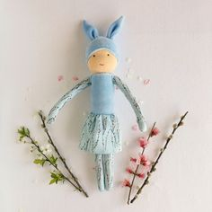 These big bunny dolls are perfect for Easter. Big Bunny, Natural Toys, Waldorf Toys, Imaginative Play, Easter Bunny, Kids Playing, Playroom, Kids Toys, Doll Clothes