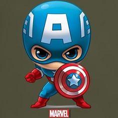 Chibi Marvel, Marvel Art, Marvel Dc Comics, Marvel Heroes, Marvel Characters, Disney Drawings, Cartoon Drawings, Cute Drawings, Batman Wallpaper