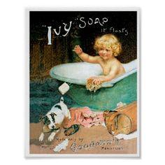 Vintage Soap Ad Print Print