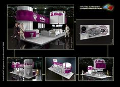 Exhibit Booth Design on Behance