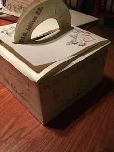 box for paper cake - wedding gift