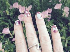 Loving my wedding anniversary manicure. The Tracy Reese designed Smudgy Floral wraps will match my dress perfectly.  HTTPS://tracydonaldson.jamberry.com