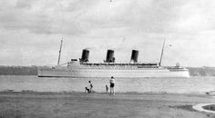 empress of britain, | 26th October 1940: Empress of Britain bombed at sea