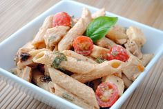 Spicy Pasta Salad with Chicken and Smoked Gouda