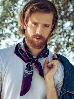 Trajes Business Casual, Red Hair Men, Streetwear, Gentleman's Wardrobe, Dandy Style, Silk Bandana, Italian Men, Dapper Men, Gentleman Style