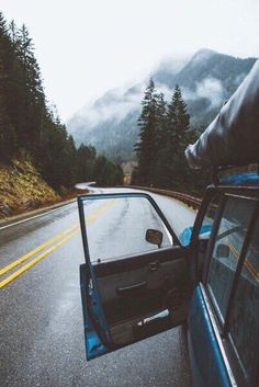car, travel, and mountains image
