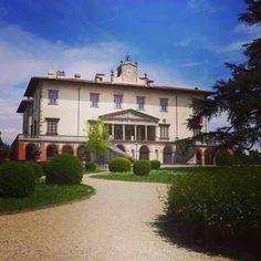 Villa medicis in Poggio a Caiano www.alidifirenze.fr