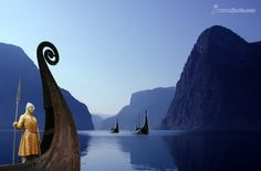 Viking longships in the Norwegian fjords provide the inspiration for the history and legends surrounding The Boathouse at Talliston.