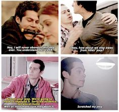 Teen Wolf - Stiles loves his Jeep