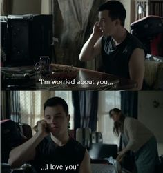#Gallavich #Shameless #5X06 Mickey's Voicemail to Ian