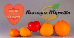 Vendemos online nuestras naranjas y mandarinas criadas con mucho amor. #valentinesday2017 #sanvalentin #naranjas