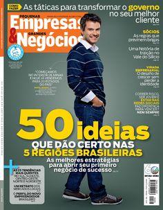 Edição 283, agosto de 2012. Capa especial das regiões Sudeste e Centro-Oeste.