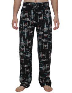 STAR WARS DARTH VADER Mens Fall / Winter Sleepwear / Pajama Pants at Amazon Men's Clothing store: