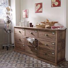Buffet moderne ch ne epinal buffets bois buffet moderne - La redoute meuble chaussures ...