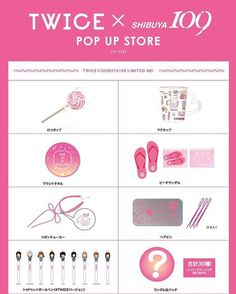 Preorder TWICE X SHIBUYA 109 Pop Up Store Goods inbox or wechat  joyce10487 for more info or place order #kpopshoponline #kpopshopmalaysia #kpopshopmurah #twice #twicejihyo #nayeon #sana #momo #twicemina #jeongyeon #chaeyoung #dahyun #tzuyu #littleshop04