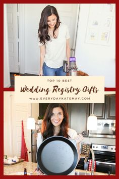 This post is for brides looking for the best wedding gifts to register for. These wedding registry gifts are my favorite, and these ideas will help you find the best wedding registry gifts to look for. Best Wedding Registry, Best Wedding Gifts, Best Gifts, Wedding Planning Timeline, Event Planning, Foil Wedding Stationery, Mother Of The Groom Gifts, Bridesmaids And Groomsmen, Bridesmaid Proposal