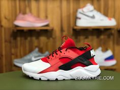Nike Air Huarache Run Ultra 847568 106 White Red-Black Running Shoes New  Year Deals c9183da0a31