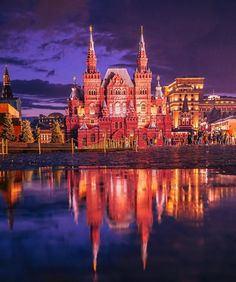 Moscow fairy-tale Meanwhile In Russia, Cologne, Moscow, Fairy Tales, Cathedral, World, Building, Instagram Posts, Destinations