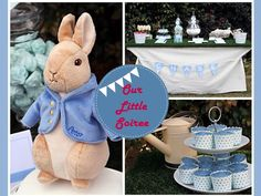 Peter Rabbit 1st Birthday Party - Kara's Party Ideas - The Place for All Things Party
