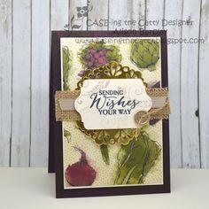 Gothdove Designs - Alison Barclay - Stampin' Up! Australia - Stampin' Up! Farmers Market DSP #stampinup #farmersmarket #birthday #card #butterflybasics #burlap #inspirecreateshare2015 #gothdovedesigns