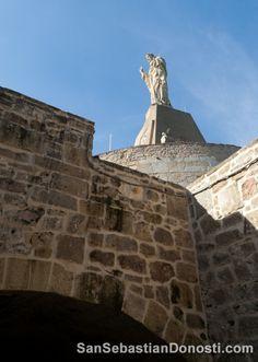 Foto Estatua del Sagrado Corazón de Jesús. San Sebastián/Donostia, Guipúzcoa