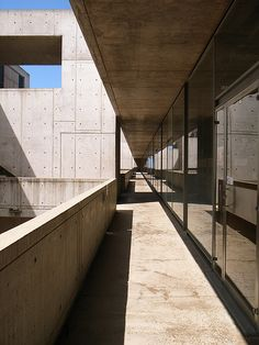 Salk Institute for Biological Studies. La Jolla, California. Louis Kahn. 1962