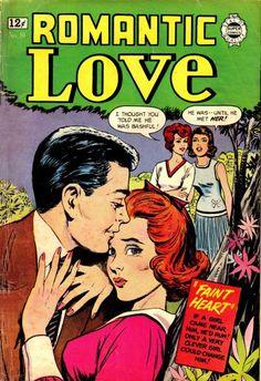 Heart Throbs DC Comics Romance Bride Style Heartbreak Romita 1964 FN+ by LifeofComics Old Comics, Vintage Comics, Pop Art, Romantic Comics, Tg Tales, Love Cover, Silver Age Comics, True Romance, Comic Book Covers