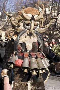 Kuker mask - Bulgaria - proof Link's Kukeri from Zelda are Bulgarian ;)