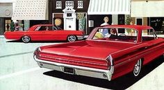 1962 Pontiac Catalina Vista and Sports Coupe - Promotional Advertising Poster