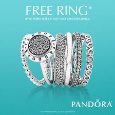 ecause one is never enough! Buy any 2 PANDORA rings, and get another 1 for FREE! What are you waiting for? #pandora #pearhome #orangeville  http://pearhome.ca/