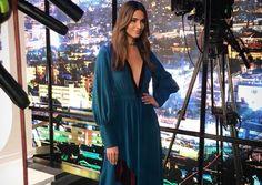 Η Ηλιάνα Παπαγεωργίου αποχαιρετά το Greeces Next Top Model  Η αινιγματική ανάρτησή της! Next Top Model, Fashion Inspiration, Wrap Dress, Greek, Characters, Celebrities, Dresses, Vestidos, Celebrity