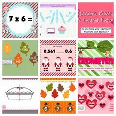 Classroom Freebies: Smart Board Math Games = covers most of the learning standards Classroom Freebies, Math Classroom, Kindergarten Math, Teaching Math, Teaching Ideas, Future Classroom, Classroom Organization, Fun Math, Math Games