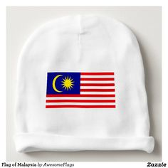 Flag of Malaysia Baby Beanie