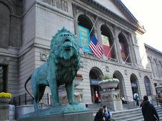 Though I've been to the Art Insitute of Chicago many times, I never fail to love my visits.  I could look at The Thorne Rooms and Impressionist galleries hundreds of times and see something new in them every visit.