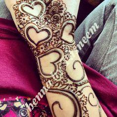 My own arabic henna
