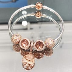"299 Likes, 1 Comments - Pandora @ WestFarms Mall (@pandorawestfarms) on Instagram: ""Did you know that the popular Family Heritage charm is now available in Pandora Rose? Visit us to…"""