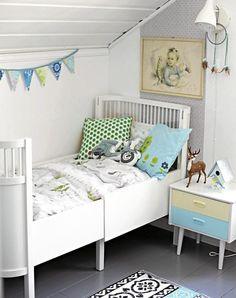 Barnerom on Pinterest Kids Reading Corners, Baby Boy Nurseries and ...
