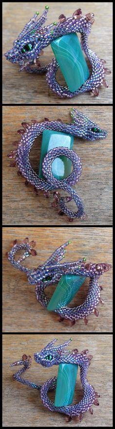 Purple dragonsnake by Rrkra.deviantart.com on @deviantART
