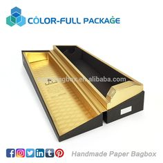 Luxury branded paper wine box in gift packaging boxes